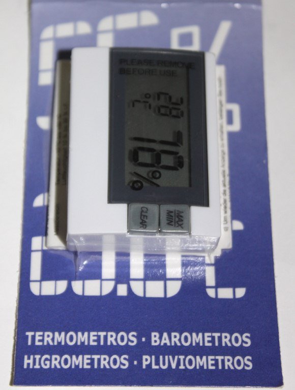 TERMOMETRO-HIGROMETRO DIGITAL 5757 (30.5005)