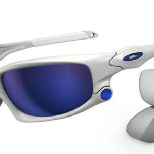 OAKLEY 9099 SPLIT JACKET 03 Blanco Brillo - Lente Hielo Iridium