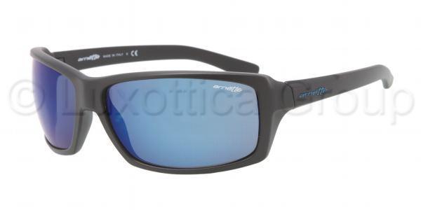 ARNETTE 4172 CHOP SHOP 01 55 Negro mate-Azul espejo