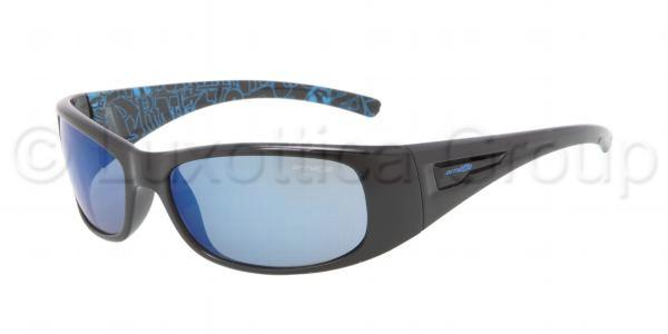 ARNETTE 4139 HOLD UP 213955 Negro -Lente azul espejo