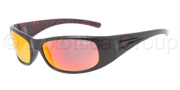 ARNETTE 4139 HOLD UP 21406Q Rojo negro-Lente multicapa