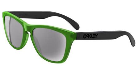 OAKLEY 9013 FROGSKINS 286 Verde - Lente Gris