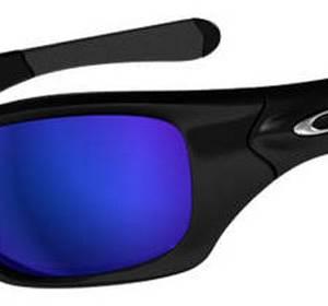 Gafas de Sol Oakley 9127 Pit Bull 10 - Negro Brillo - Azul shallow Polarizada