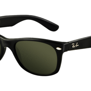RB 2132 NEW WAYFARER 901 52 negro brillo-Lente verde