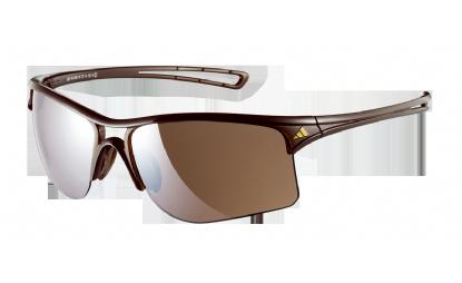 Gafas de Sol ADIDAS A404 RAYLOR L 6053 SHINY BROWN -Lente LST CONTRAS SILVER