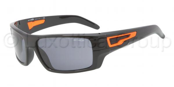 ARNETTE 4158 AFTER PARTY 212587 Negro naranja-Lente gris