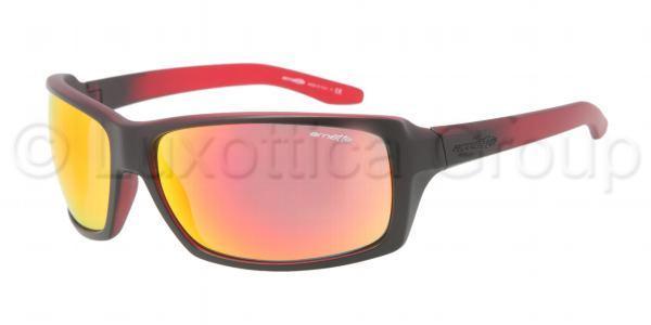 AN 4172 CHOP SHOP 21186Q Negro rojo trasparente-Rojo multicapa