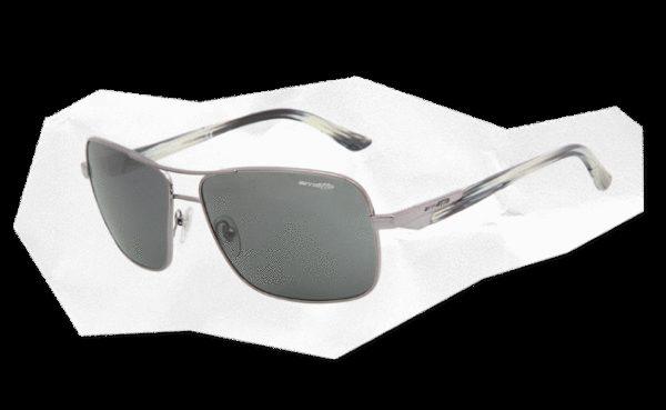 ARNETTE 3062 STAKEOUT 502 87 Gunmetal-Lente gris