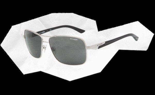 ARNETTE 3062 STAKEOUT 507 87 Plateada-Lente gris
