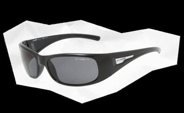 ARNETTE 4139 HOLD UP 41 81 Negro brillo-Lente gris polarizado