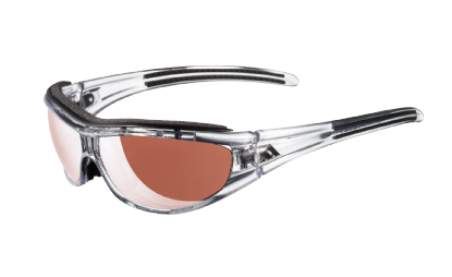product g a gafas de sol adidas a126 evil eye pro 6069 transparent black   lente lst active silver lst bright antifog .jpeg en Óptica Sobrarbe