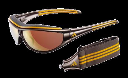product g a gafas de sol adidas a134 evil eye explorer 6056 gunmetal ochre lente lst active gold lst bright antifog .jpeg en Óptica Sobrarbe
