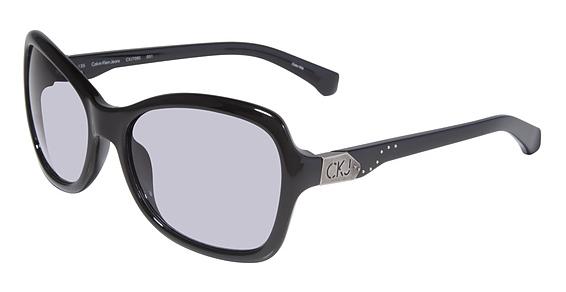 Calvin Klein Jeans CKJ 708S 001 - Montura Negro - Lente Gris Claro