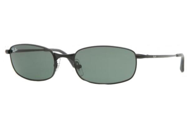 Ray-Ban RB 3162 006 Montura Negro Mate - Lente Verde G15