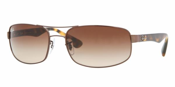 Ray-Ban RB3445 014 51 61 Marrón - Lente Marrón degradado