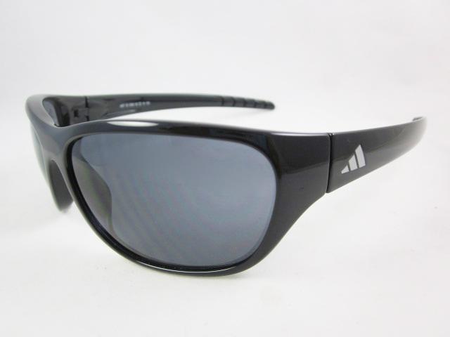 Gafas de Sol ADIDAS A387 KASOTO 6050 SHINY BLACK - Lente Grey