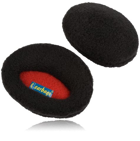 earbags mediana negro