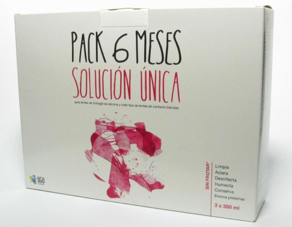 Pack 3 Solución Única UGO 350ml