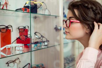 montura de gafa según forma de cara